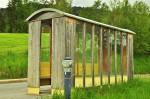 Viel Holz an der Hütte: Brewalder Bushäusl, Modell Godot 2.0 (Foto: Munich Globe Bloggers)