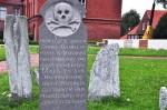 Hier ruht Borkums erster Walzahnarzt: Friedhof am Alten Leuchtturm (Foto: Munich Globe Bloggers)