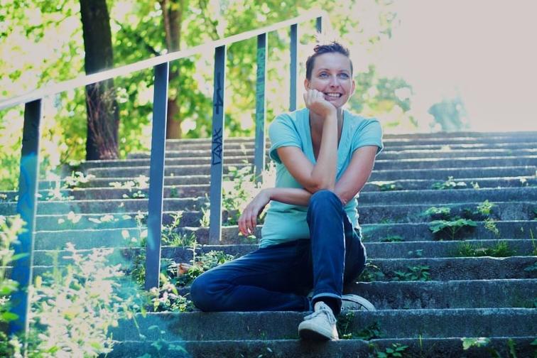 Smile for a mile: Nomaden-Conni (Foto: C. Biesalski)