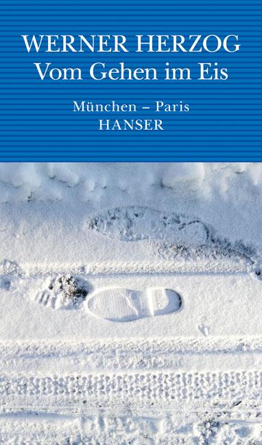 """Eis? Nice one: """"Die Regennässe steht als Gegenstand fest in der Luft."""" (Cover: Hanser Verlag, München)"""