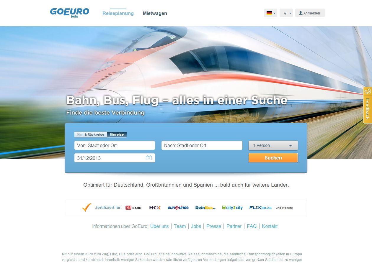 Go-Euro-Express: Sorry, no stop in f* Düsseldorf (Sreeny: GoEuro.de)
