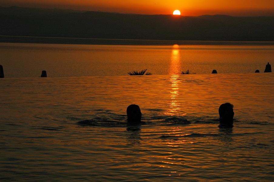 Flüssige Fata Morgana: Das Meer in meinem Pool (Foto: Munich Globe Bloggers)