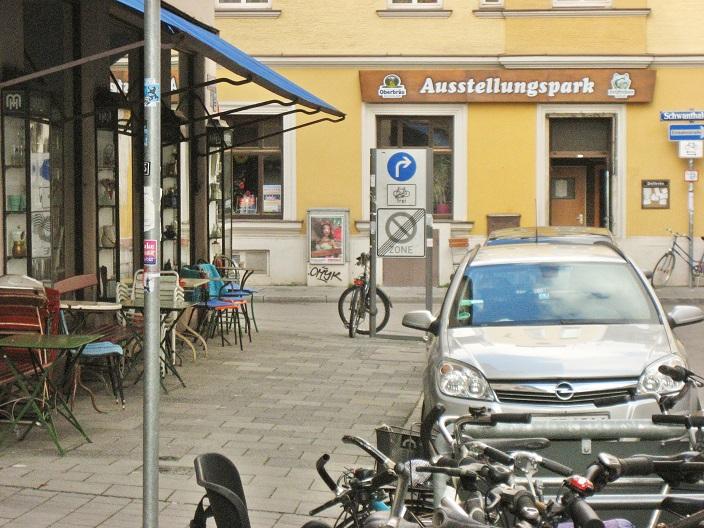 Unveränderlicher als jede Ruhrpott-Sackgasse: Parkstraße, München – ein Juwel post-proletarischer Dekadenz (Foto: Munich Globe Bloggers)