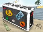 Achtung! Reisen gefährdet Ihre Sofa-Haftung - MGB klären auf (Pic: Tara Tulpe/MGB)